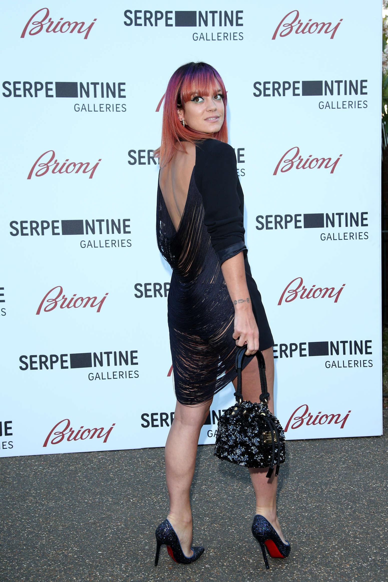 Lily Allen 2014 : Lily Allen 2014 Serpentine Gallery Summer Party -06