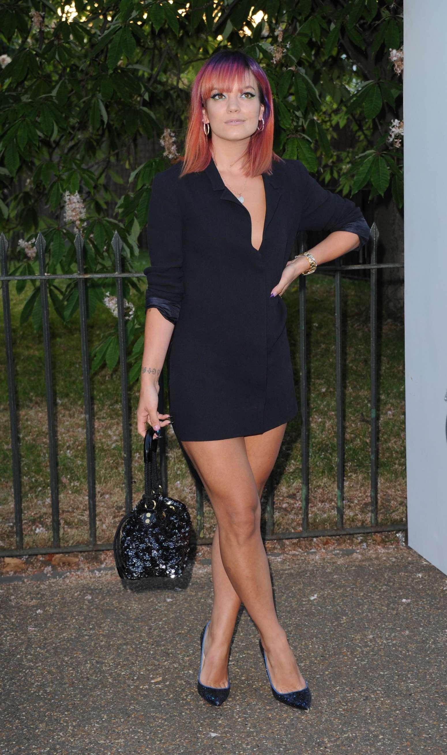 Lily Allen 2014 : Lily Allen 2014 Serpentine Gallery Summer Party -07