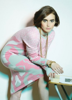Lily Collins - Crash Magazine (Winter 2014)