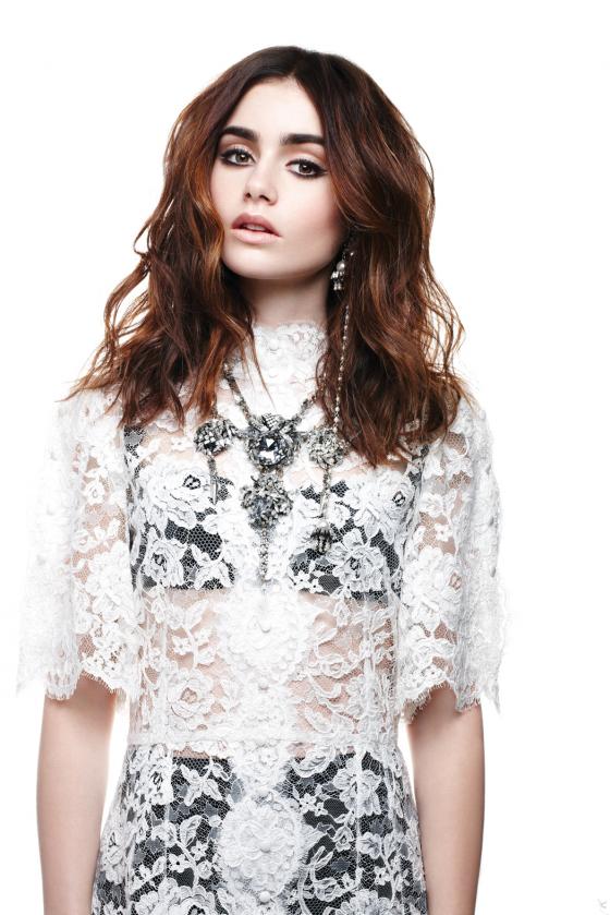 Lily Collins Vogue 2013
