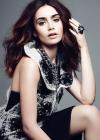 Lily Collins: Elle Magazine 2013 -02