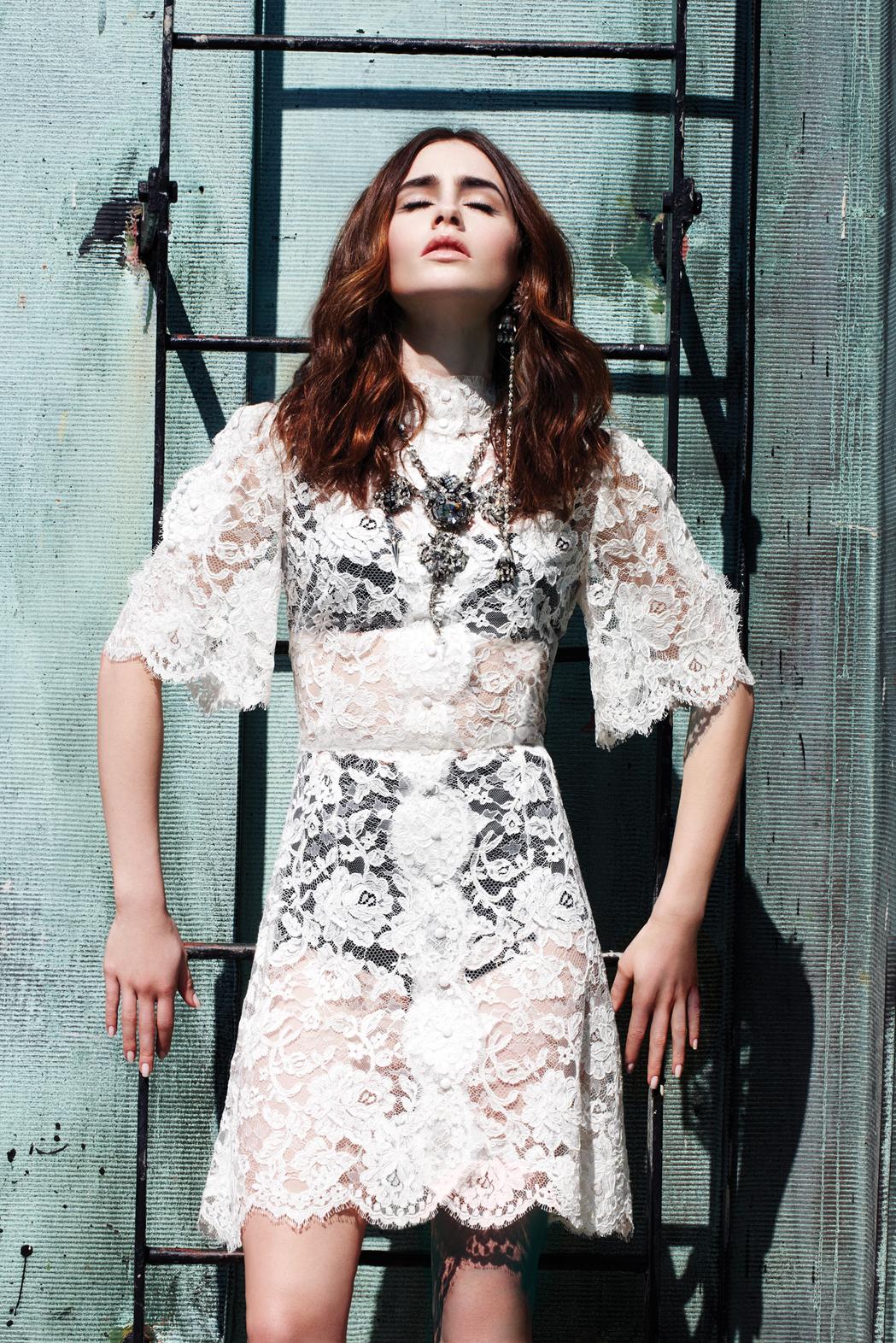 Lily Collins 2013 : Lily Collins: Elle Magazine 2013 -04