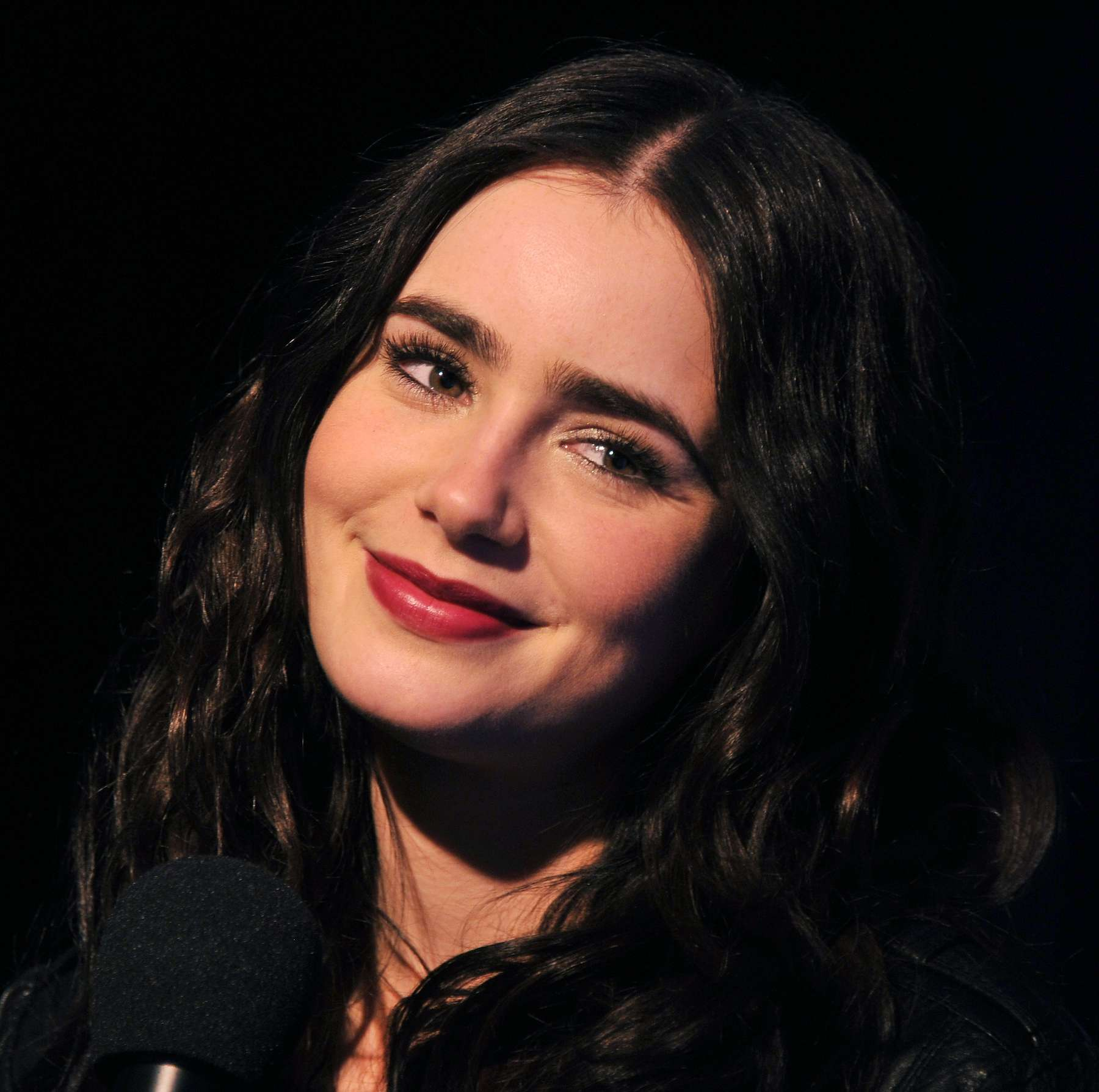 Lily Collins promotes ...