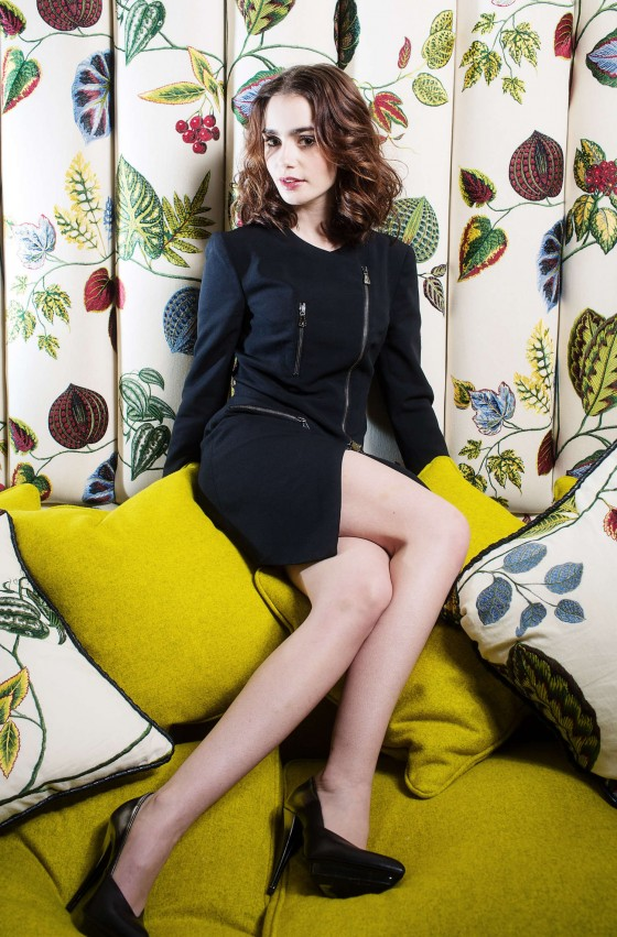 Lily Collins – Ki Price Photoshoot for The Times UK -09