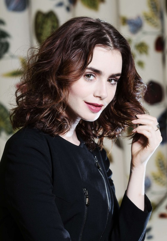 Lily Collins – Ki Price Photoshoot for The Times UK -12