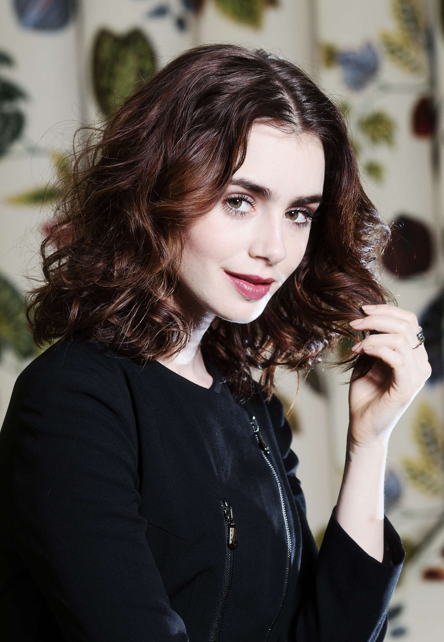 Lily Collins Ki Price Photoshoot For The Times Uk 12