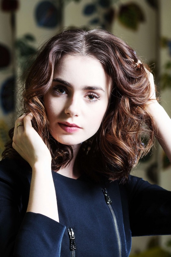 Lily Collins – Ki Price Photoshoot for The Times UK -14