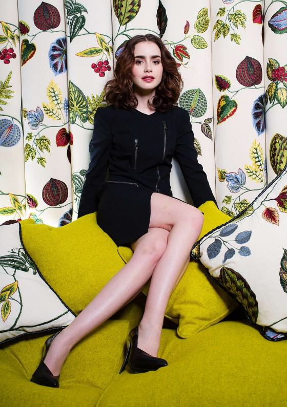Lily Collins – Ki Price Photoshoot for The Times UK -15