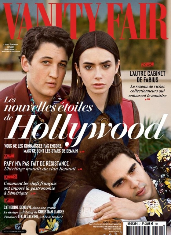 Lily Collins: Vanity Fair Cover 2014 -01