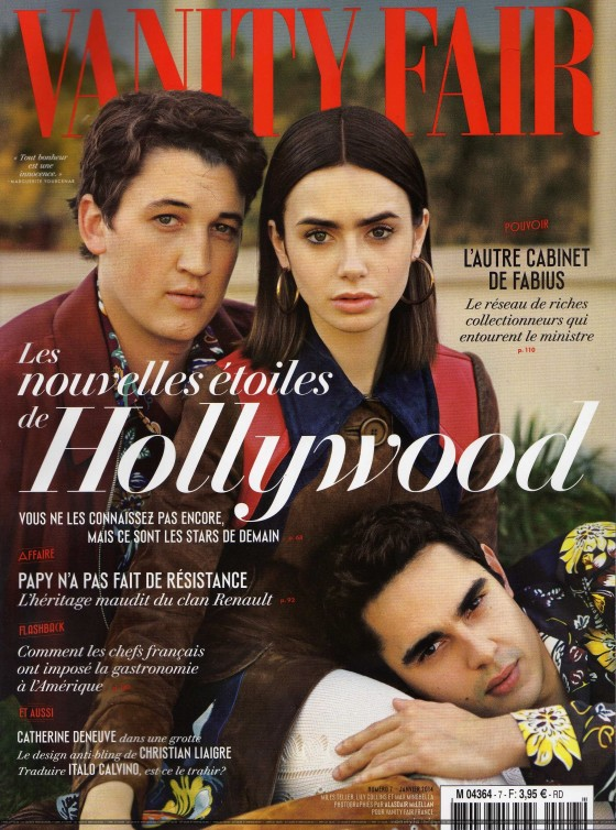 Lily Collins: Vanity Fair France -04