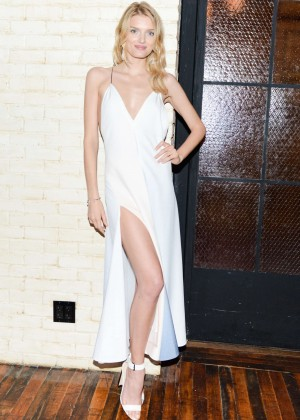 Lily Donaldson - 2014 CFDA/Vogue Fashion Fund Design Challenge Cocktail in New York