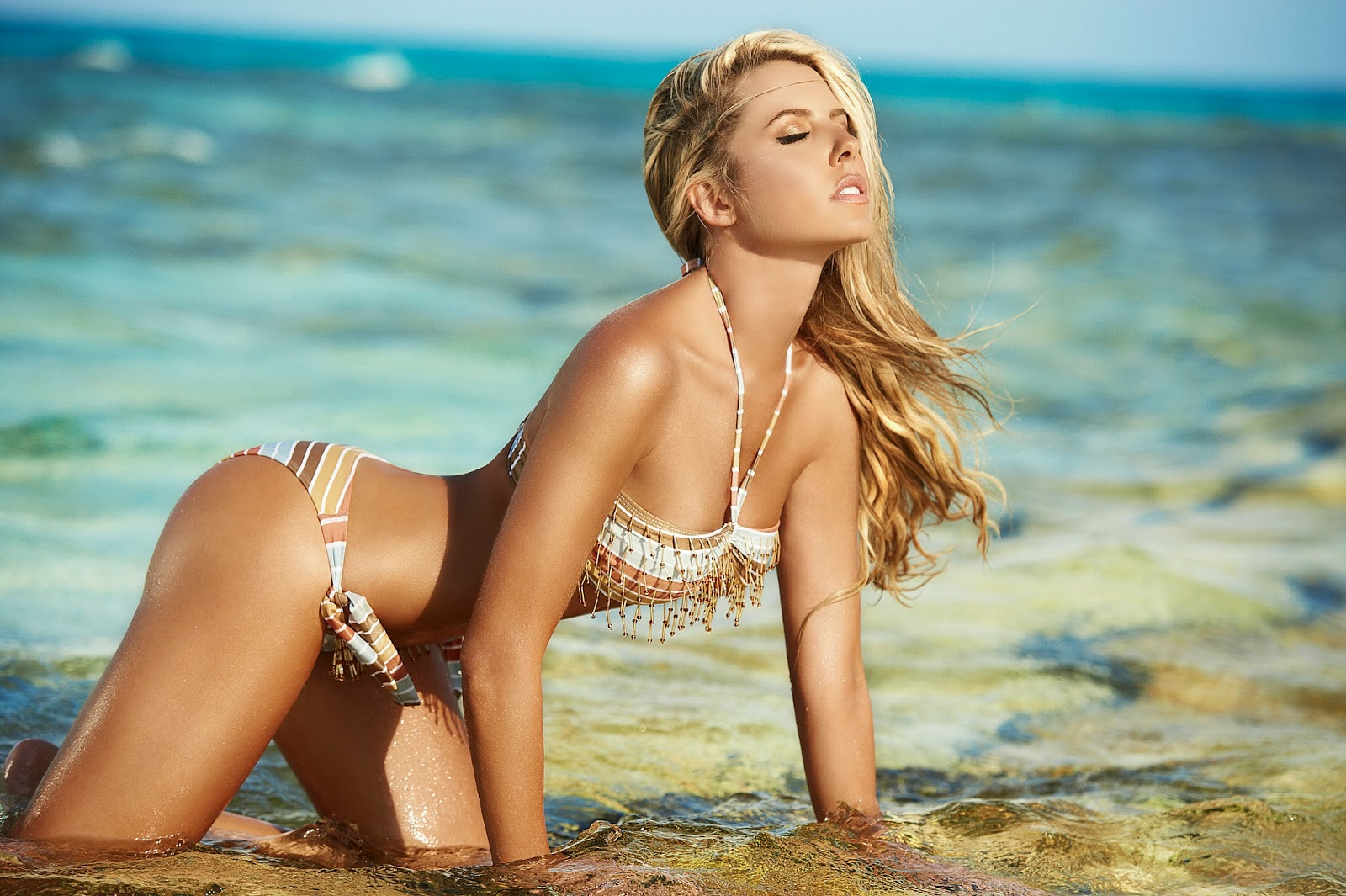 lina posada bikini photoshoot gotceleb