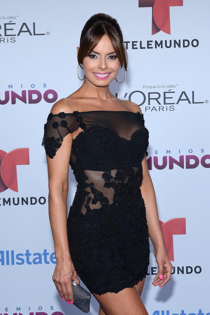 Linda Candelo - 2014 Telemundo's Premios Tu Mundo Awards in Miami