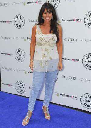 Linda Lusardi - 2014 Jeans for Genes Day in London