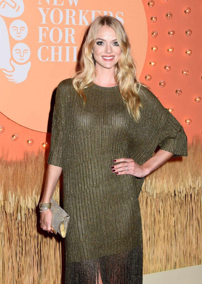 Lindsay Ellingson – 15th Annual New Yorkers For Children Gala in NYC