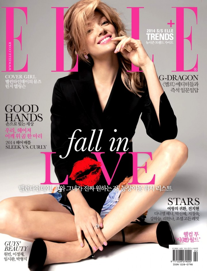 Lindsay Ellingson: Elle Magazine by Hong Jang Hyun (Korea February 2014) -03