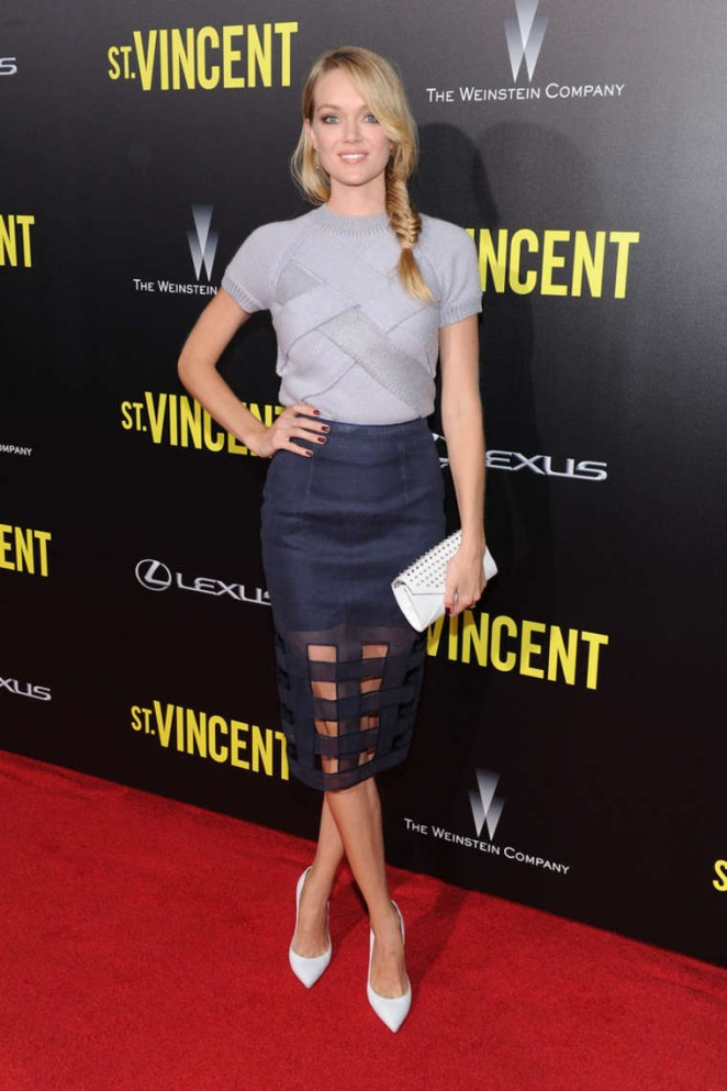 """Lindsay Ellingson – """"St. Vincent"""" New York Premiere at the Ziegfeld Theater"""