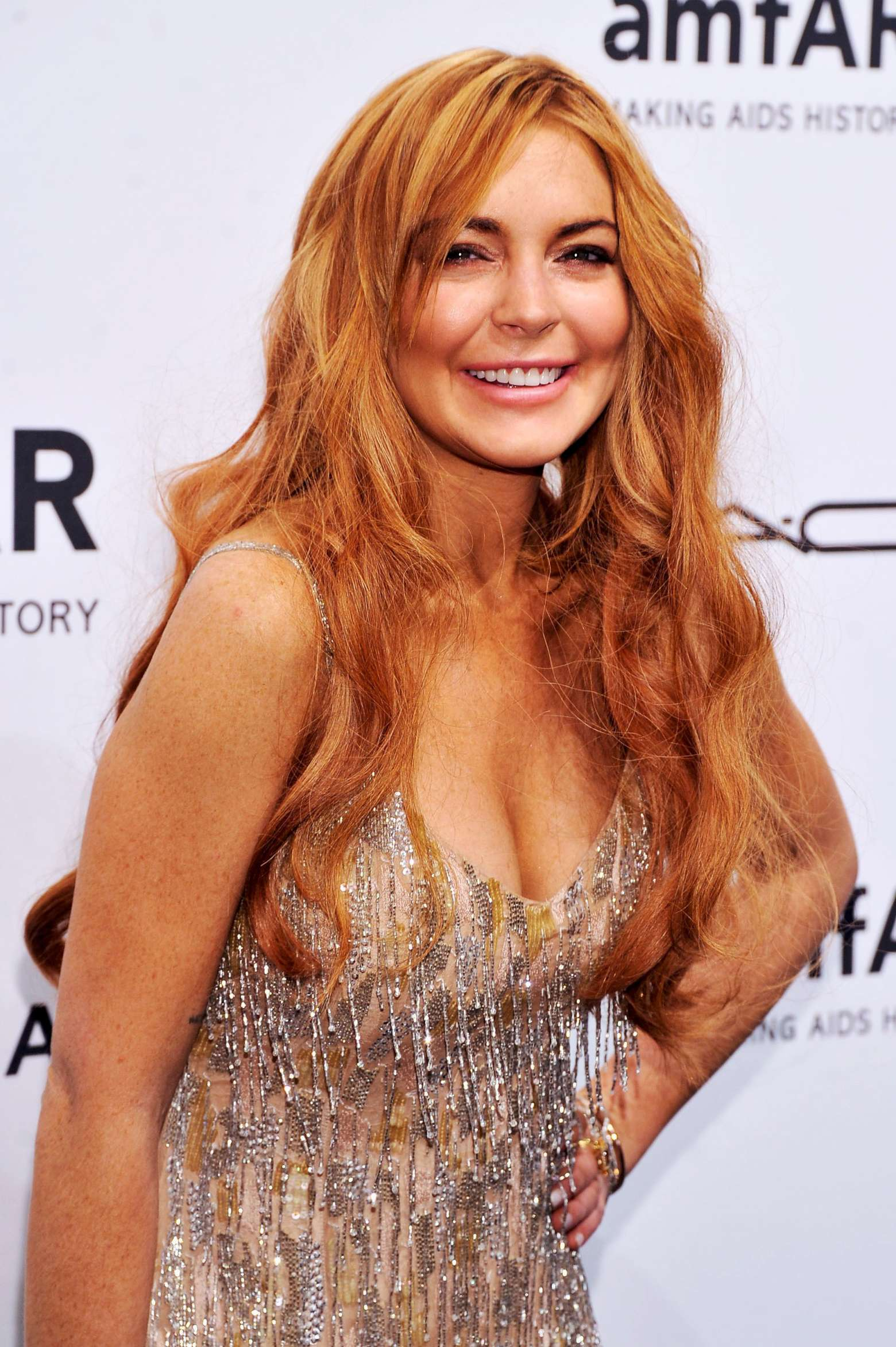 Lindsay Lohan – 2013 amfAR New York Gala-02 – GotCeleb