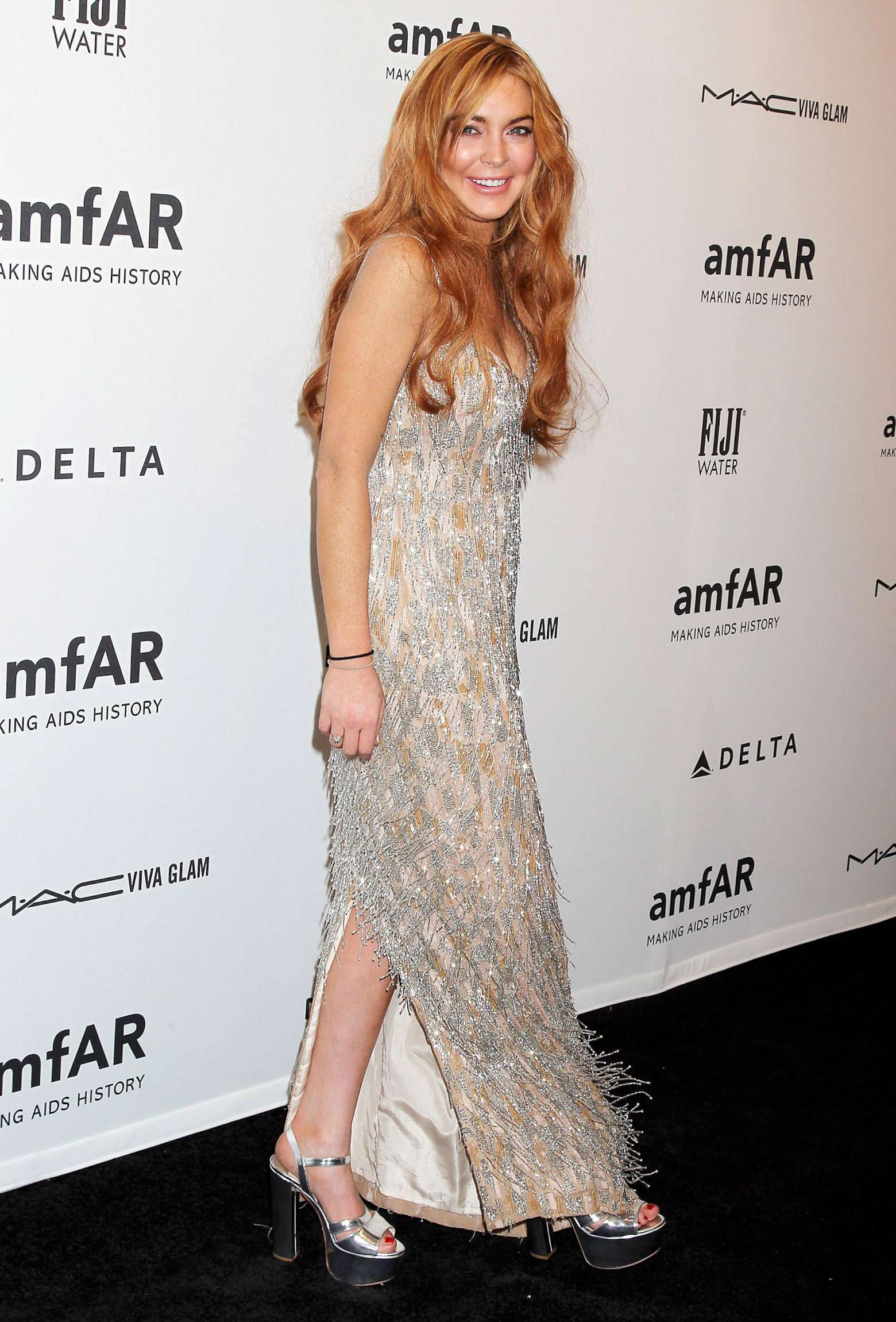 Lindsay Lohan – 2013 amfAR New York Gala-03 – GotCeleb