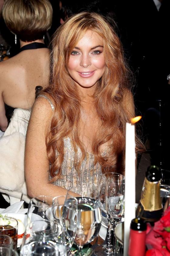 Lindsay Lohan – 2013 amfAR New York Gala-04 – GotCeleb