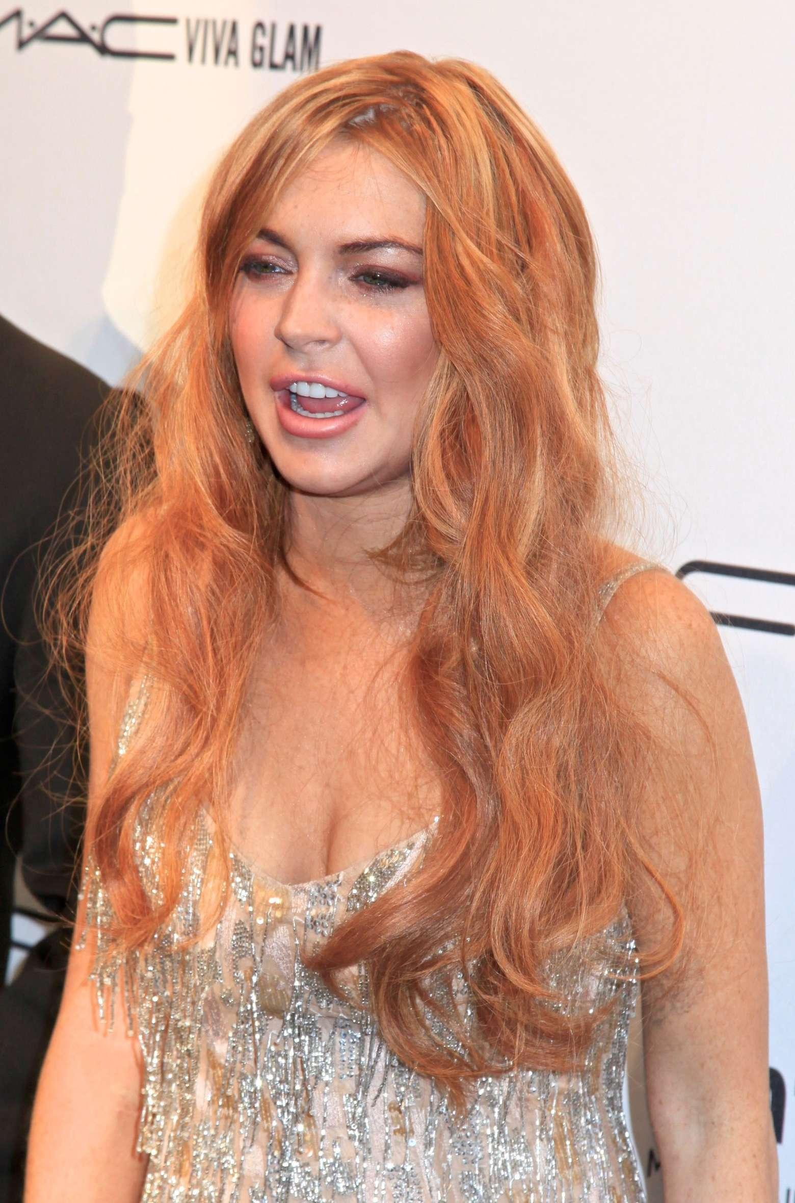 Lindsay Lohan – 2013 amfAR New York Gala-07 – GotCeleb