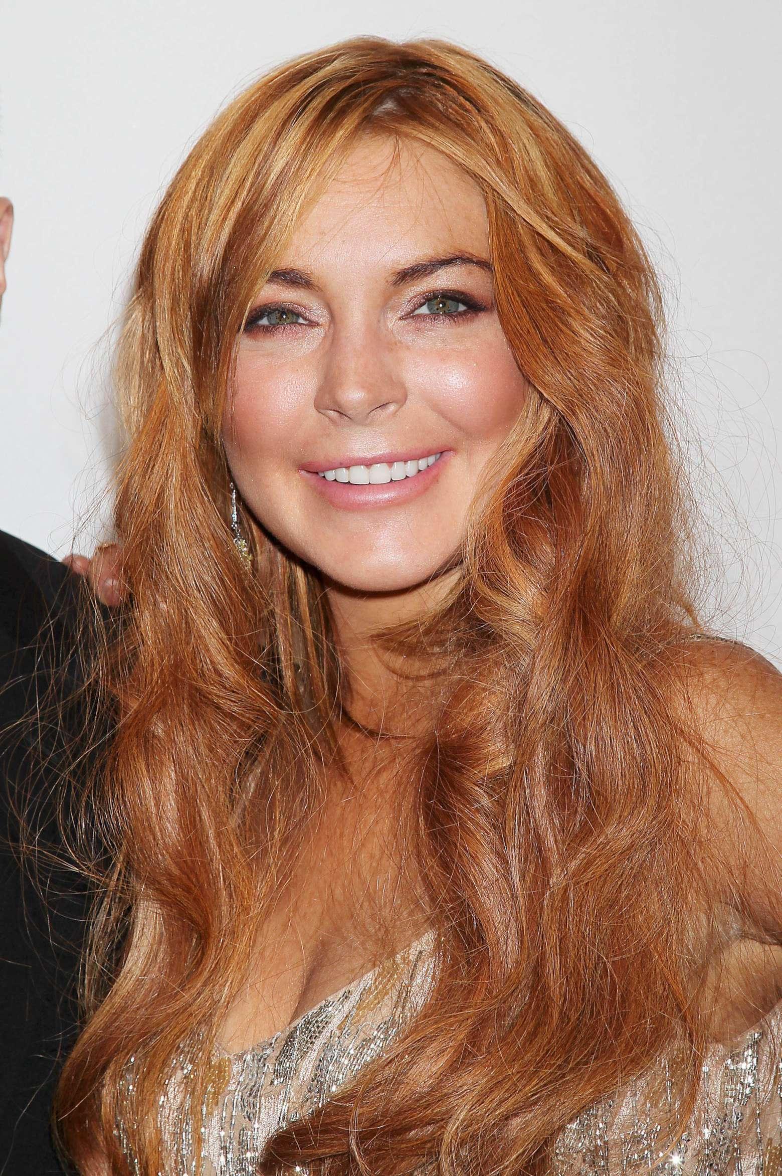 Lindsay Lohan – 2013 amfAR New York Gala-12 – GotCeleb