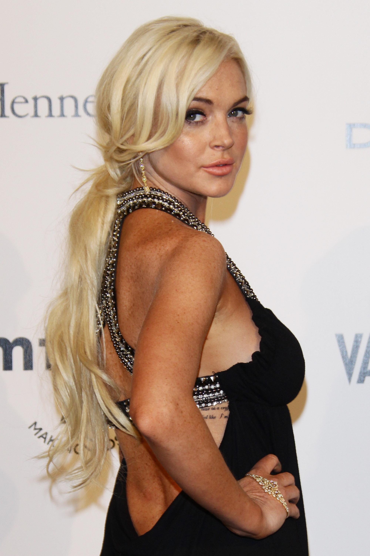 Lindsay Lohan Amfar Milano Event 07 Gotceleb