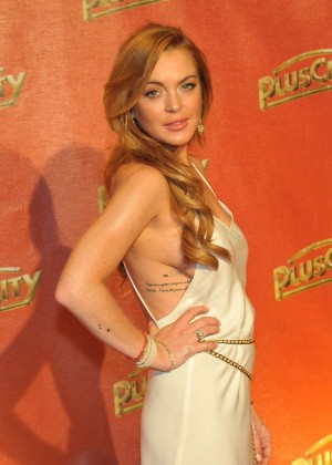Lindsay Lohan at The White Party in Austria