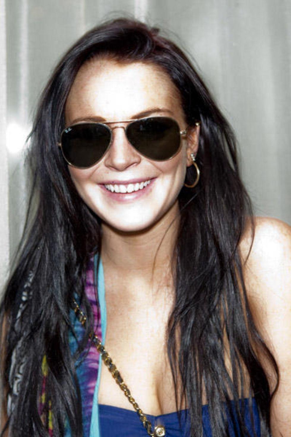 Lindsay Lohan 2010 : lindsay-lohan-bikini-top-at-music-loves-fashion-and-house-of-hype-03