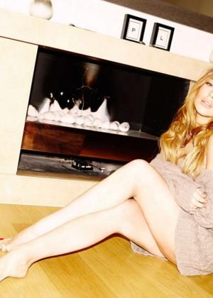 Lindsay Lohan - Into The Gloss Photoshoot (December 2014)