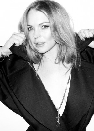 Lindsay Lohan: Terry Richardson 2014 Photoshoot -11