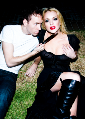 Lindsay Lohan by Tyler Shields Photoshoot 2014