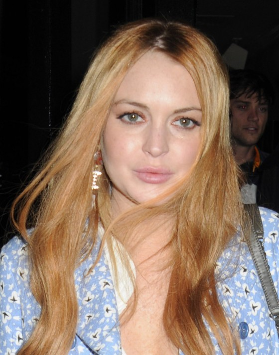 Lindsay Lohan - Dinner with Woody Allen at the Phillippe Restaurant