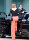 Lindsay Lohan New Candids in LA Getting Into Her Porsche