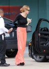 Lindsay Lohan Getting Into Her Porsche-19
