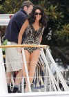 Lindsay Lohan - Bikini on the set of  Liz and Dick-04