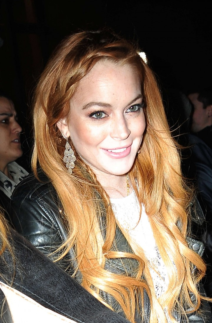 Lindsay Lohan: Watch What Happens Live candids-08
