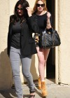 Lindsay Lohan Leggy Candids in West Hollywood-12