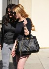 Lindsay Lohan Leggy Candids in West Hollywood-13