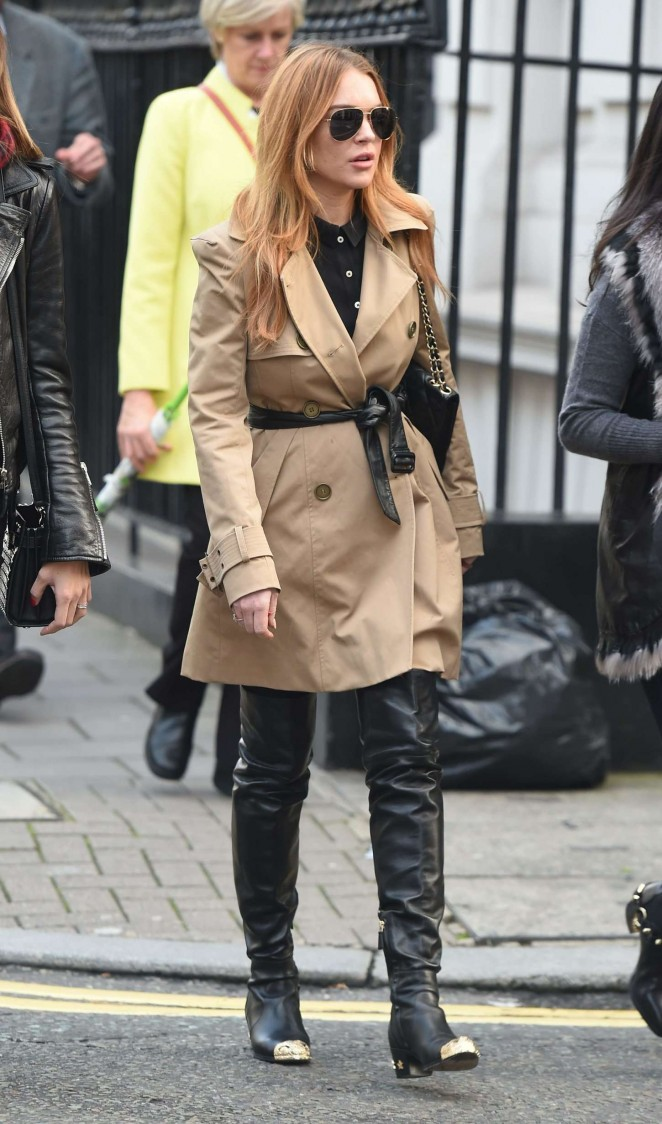 Lindsay Lohan - Out in London