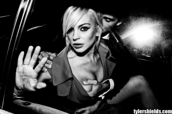 Lindsay Lohan Photoshoot by Tyler Shields