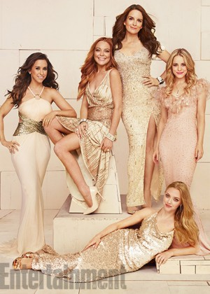 Lindsay Lohan - Mean Girls Reunion in Entertainment Weekly Magazine (November 2014)