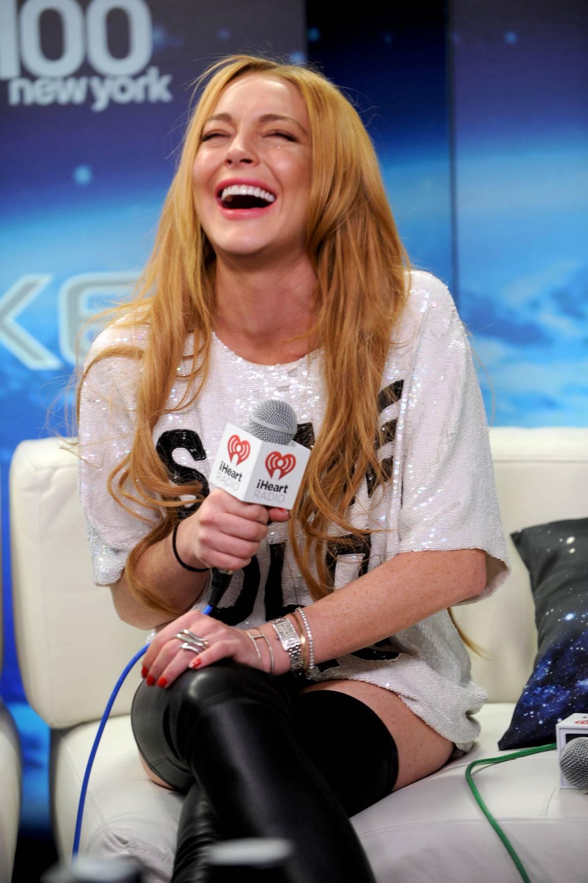 Lindsay Lohan: Z100s Jingle Ball 2013 -05 – GotCeleb