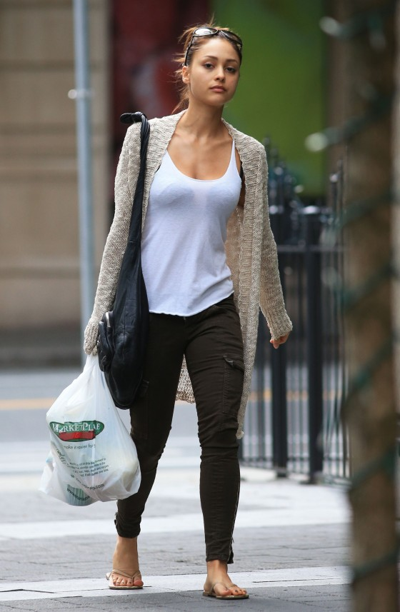 Lindsey Morgan - Out in Vancouver -01