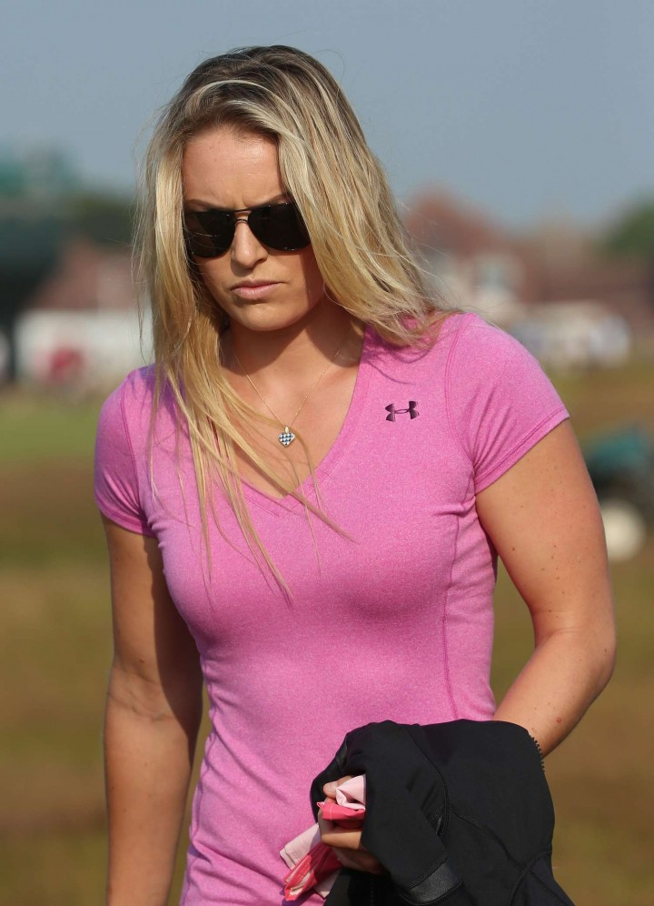 Lindsey Vonn - 143rd British Open Championship at Royal Liverpool in Hoylake