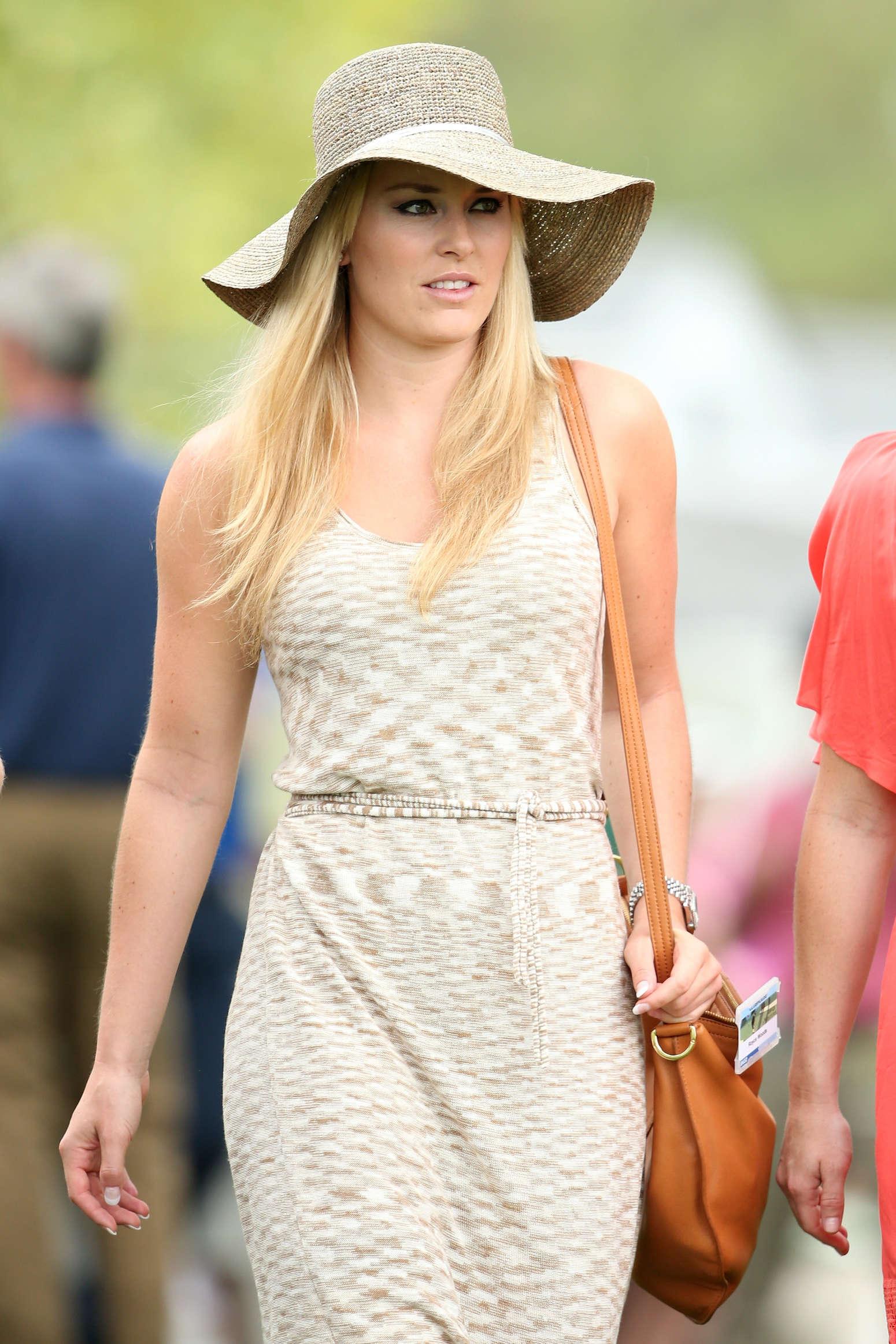 Lindsey vonn attending the masters golf 21 gotceleb