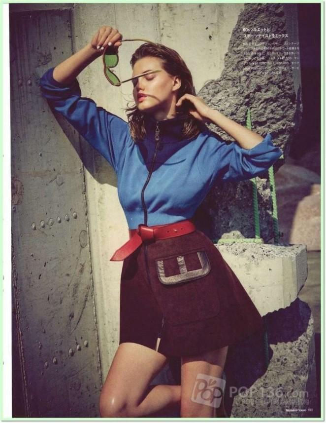Lindsey Wixson - Numero Tokyo Magazine (October 2014)