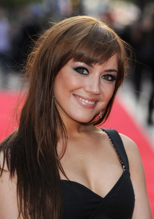 Linzey Cocker at 4,3,2,1 London Premiere – May 2010