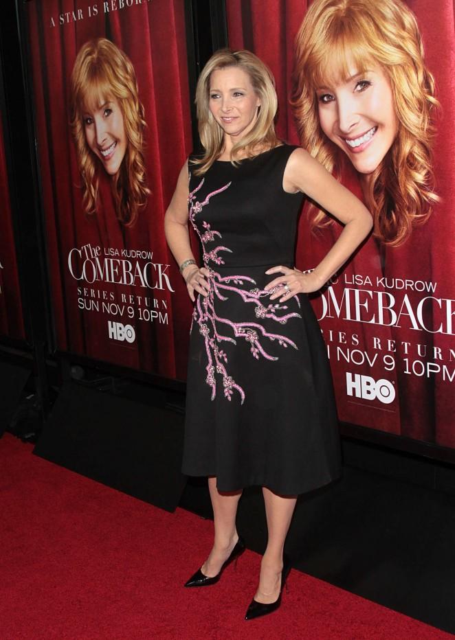 Lisa Kudrow: The Comeback Premiere -09