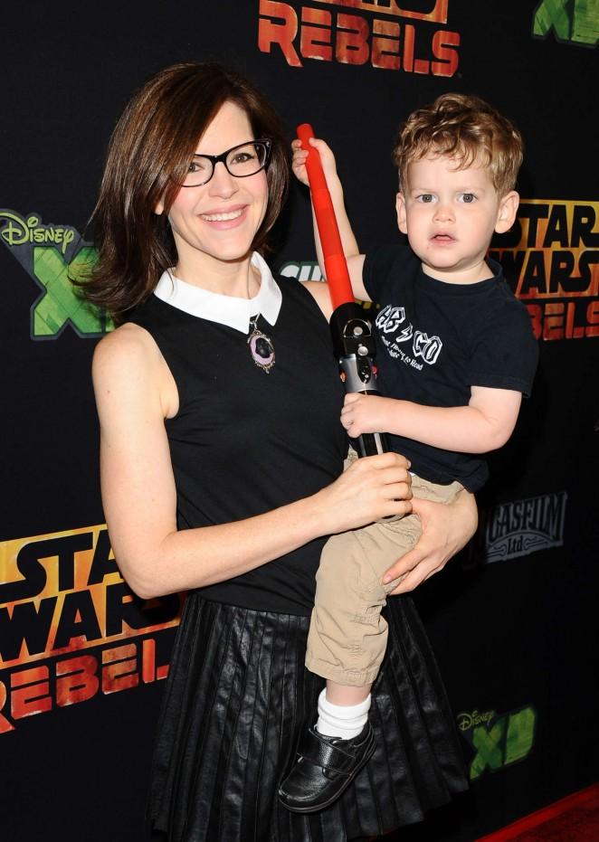 """Lisa Loeb - """"Star Wars Rebels"""" Premiere in Century City"""